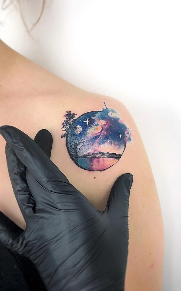 Watercolor Tattoos - Know More About Them