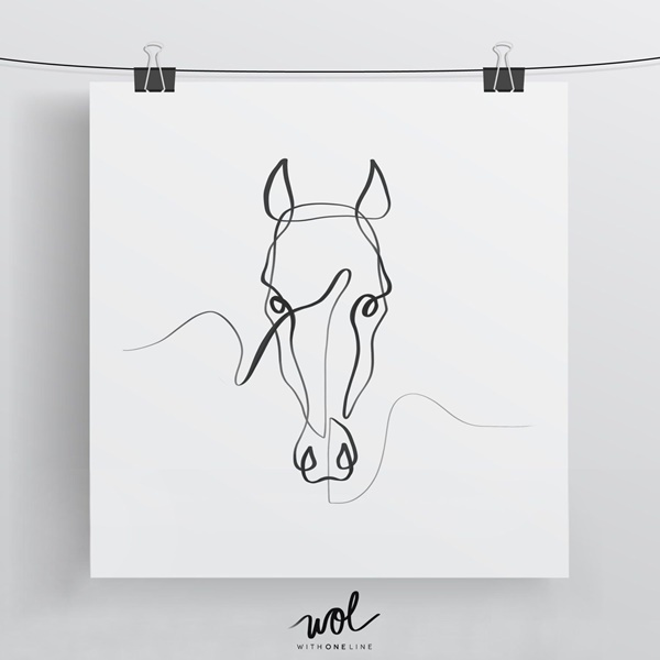 How To Draw An Animal With Single Line