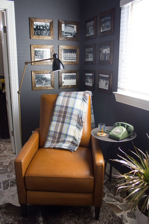Vintage-Inspired Man Cave Decor Ideas
