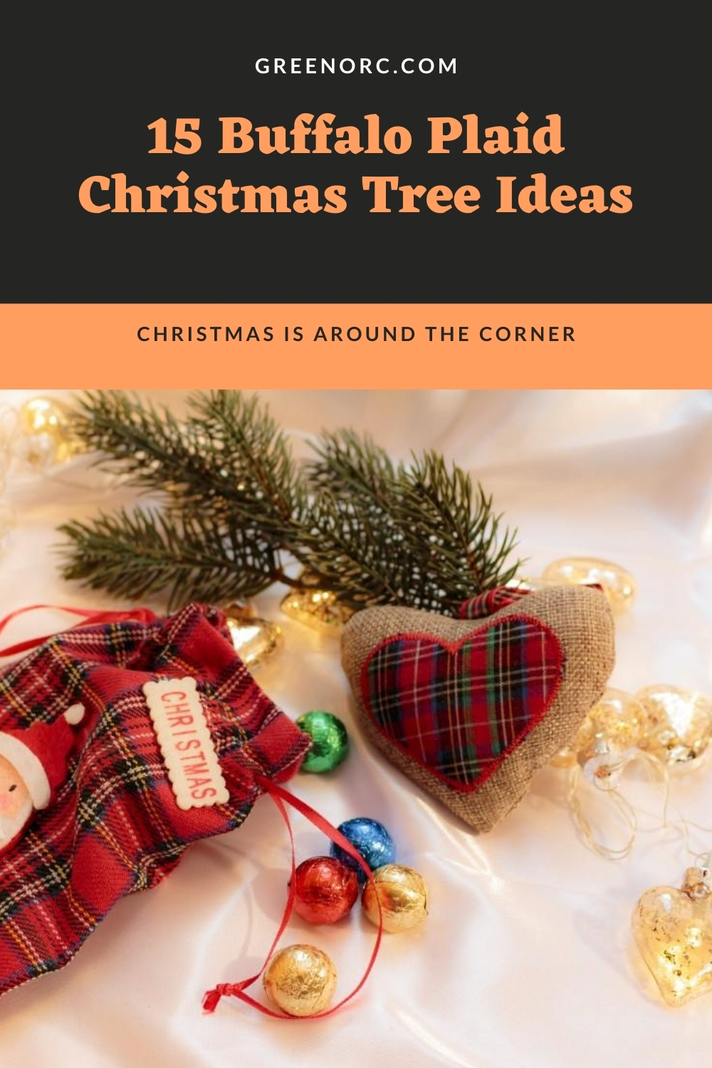 15 Buffalo Plaid Christmas Tree Ideas