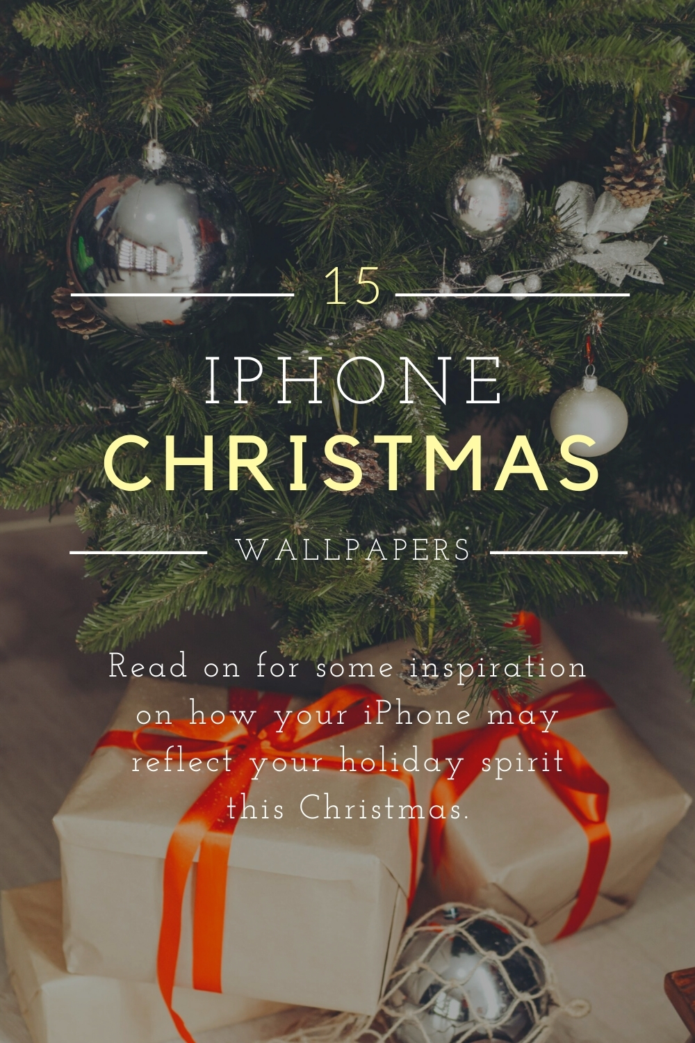 15 Wallpapers for Your iPhone this Christmas