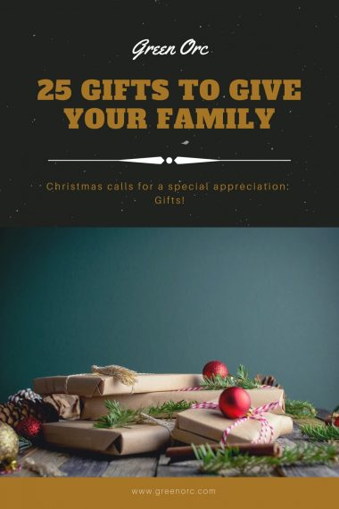 25 Christmas gifts to give your family