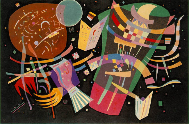 Composition X, one of the top artworks and abstract paintings by Wassily Kandinsky.